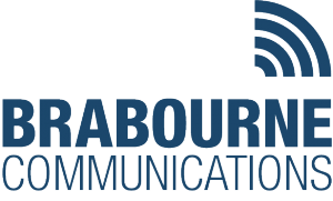 Brabourne Communications radio communication system integrator logo