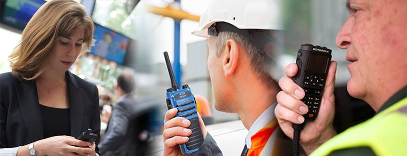 Hytera and Motorola 2 way radio and walkie talkie users