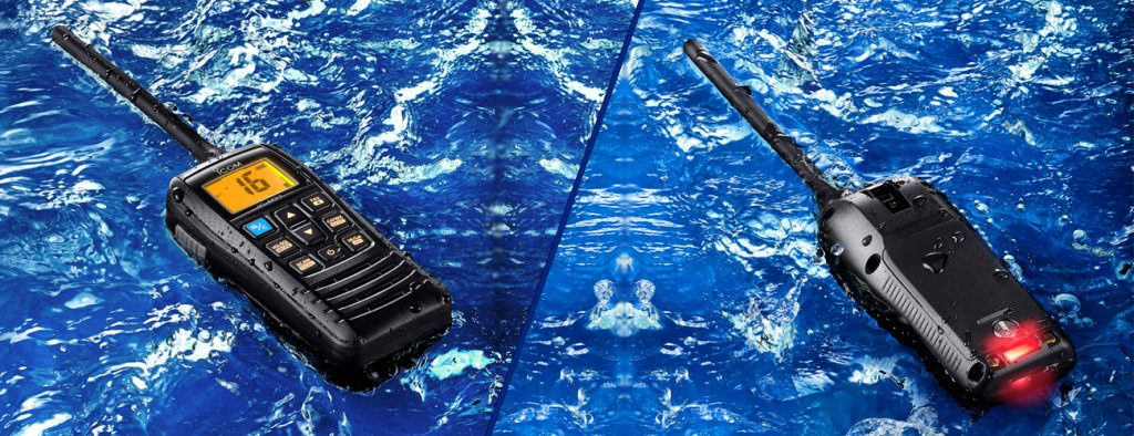 ICOM IC-M73 portable marine submersible two way radio