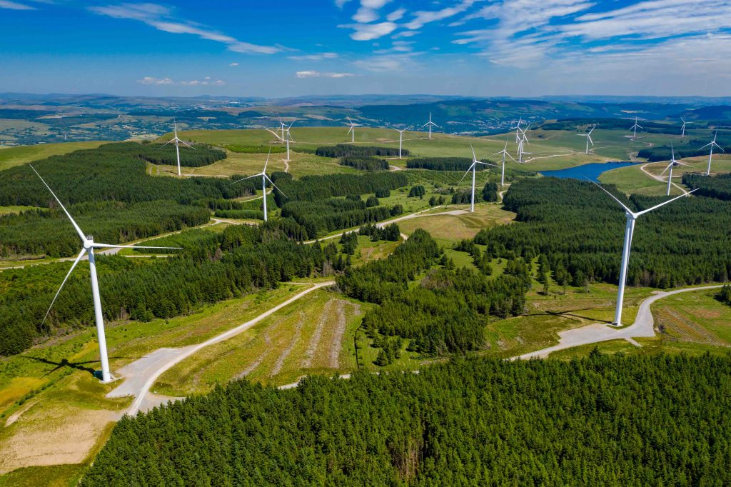 Digital radio solution for remote areas wind farms
