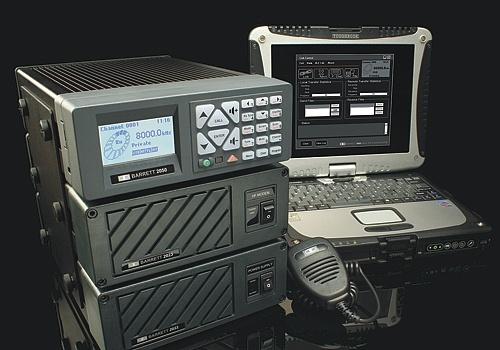 long range two way radio barrett 2050 base station