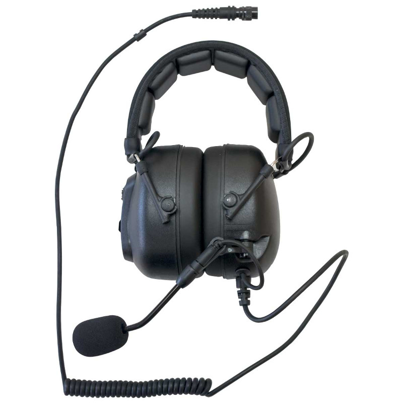 Heavy duty Over Head Headset