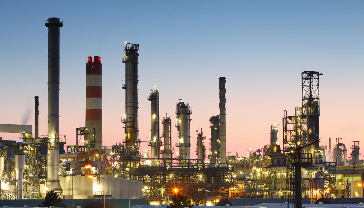 class leading wireless communications oil refinery